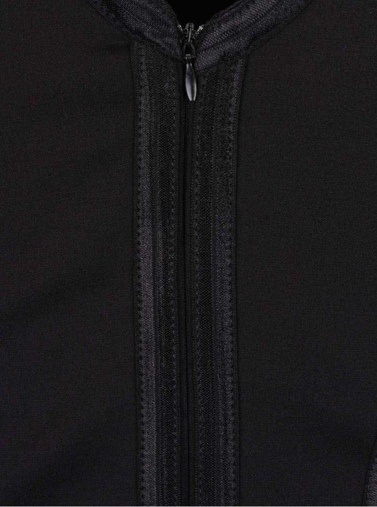 Rochie creion neagră Goddiva