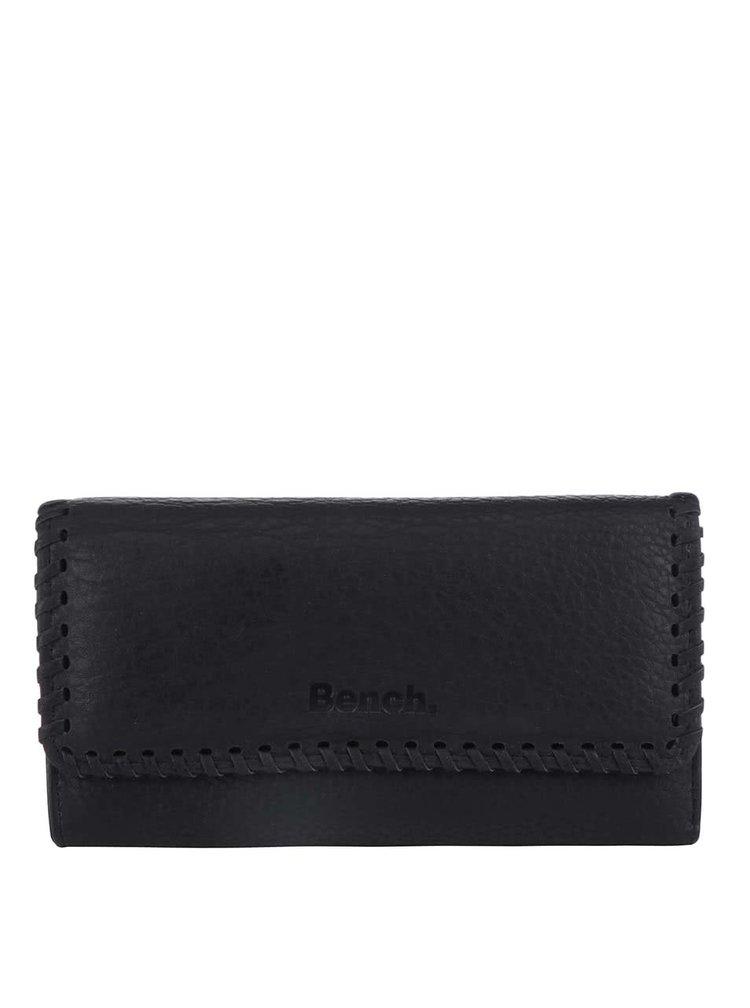 Černá dámská koženková peněženka  Bench Masterpiece
