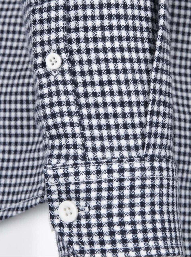 Čierno-biela kockovaná košeľa Shine Original