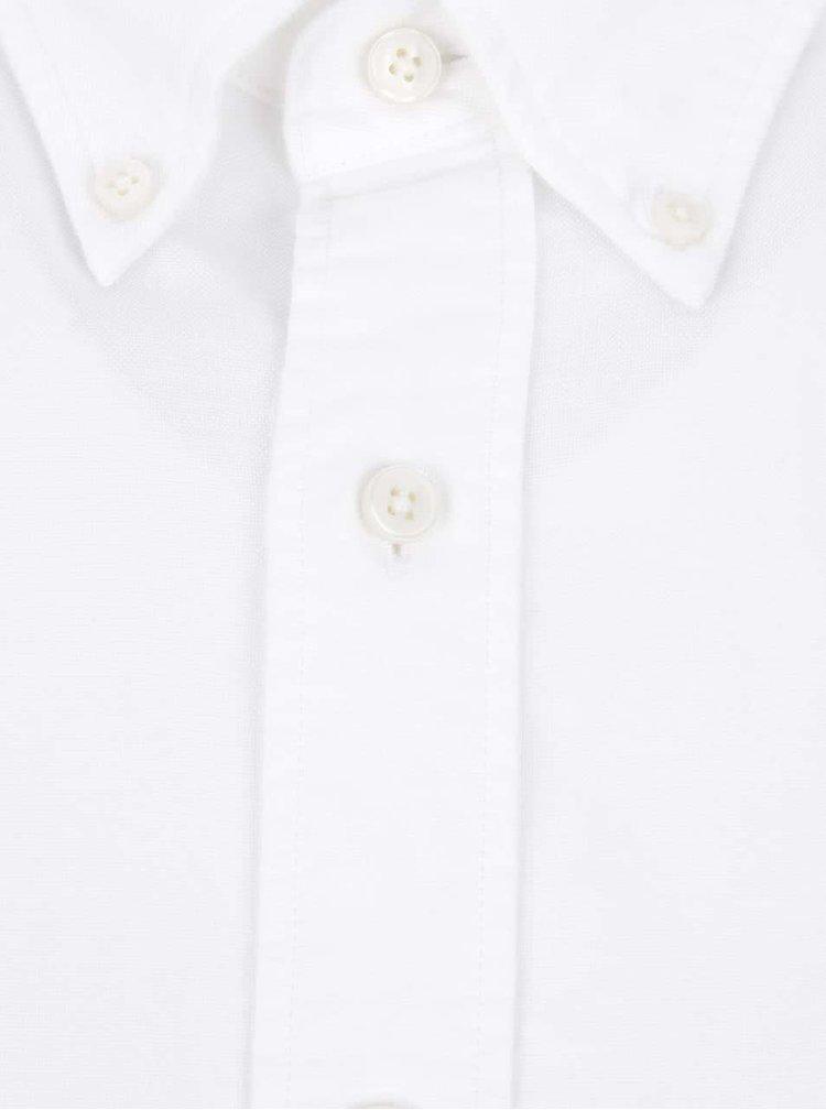 Biela pánska neformálna košeľa GANT