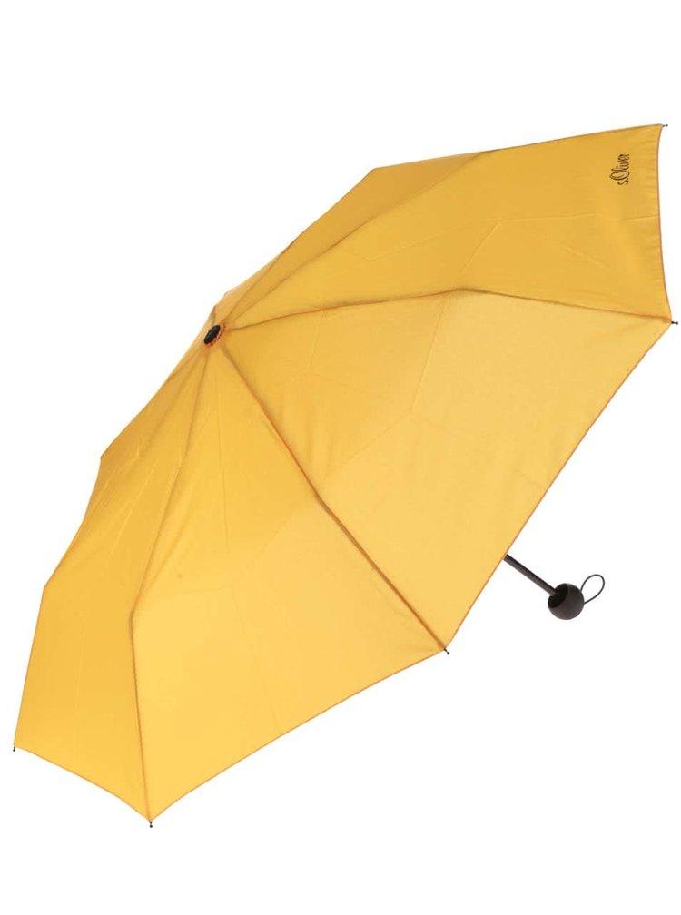 Umbrela galbena s.Oliver de dama