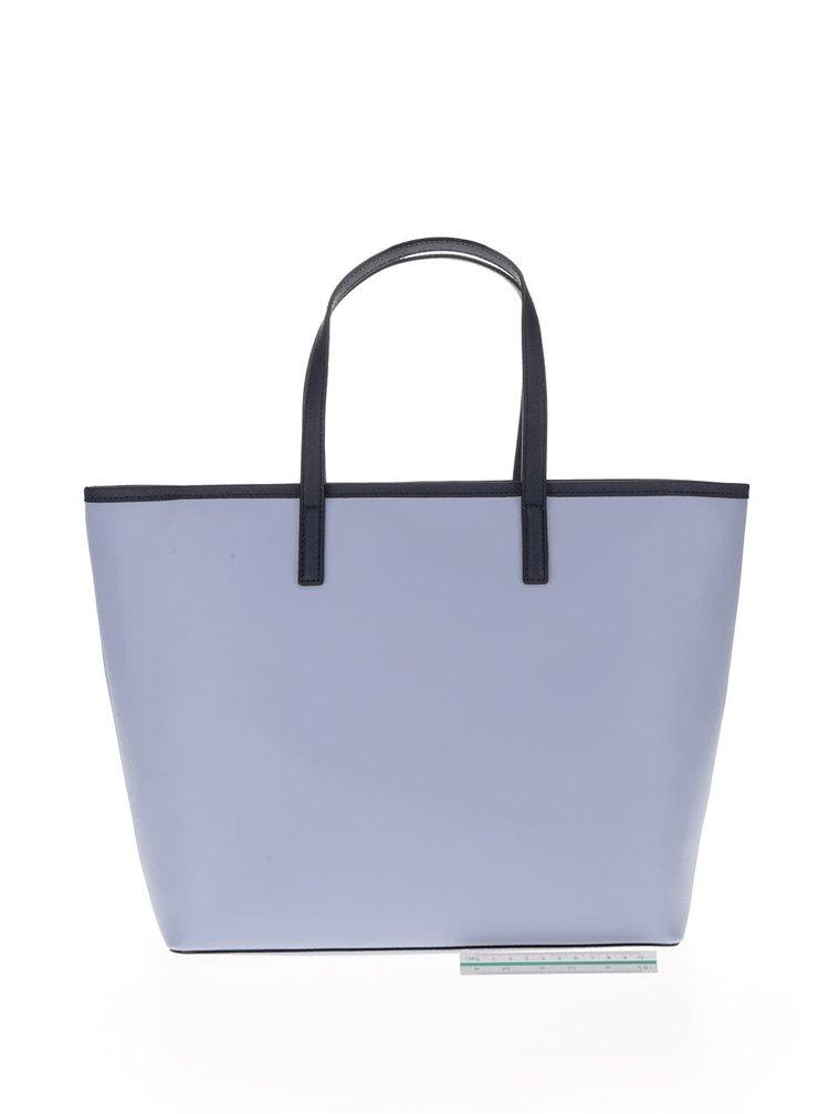 Světle modrý shopper KARL LAGERFELD