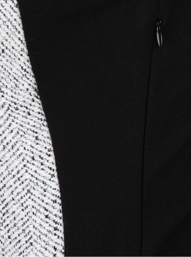 Černo-krémové šaty Desigual Oceano