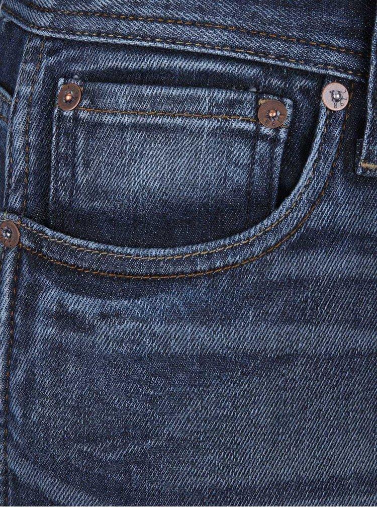 Modré pánské džíny Jack & Jones Erik