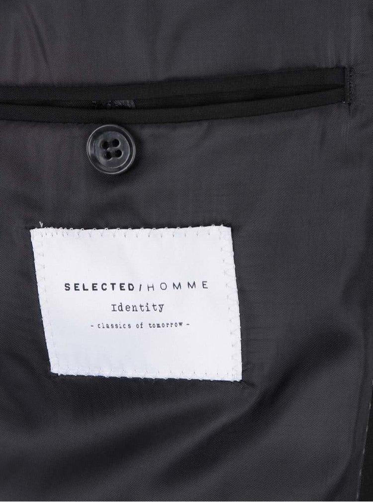 Sacou negru de costum - Selected Homme Newone