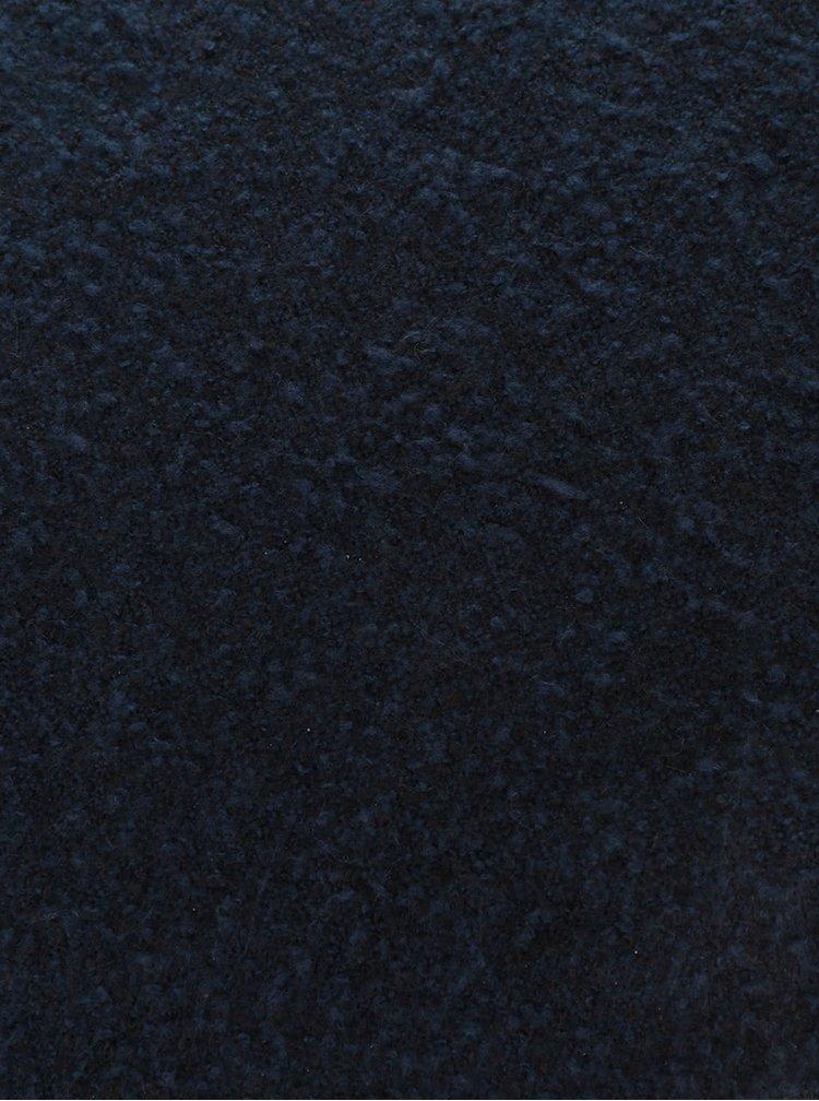 Modro-černá žíhaná šála Pieces Pacific