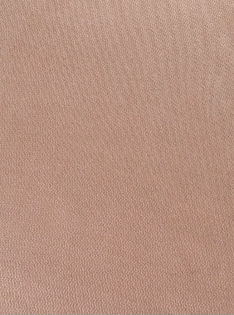 Růžovo-béžová žíhaná  šála Pieces Dalaksi