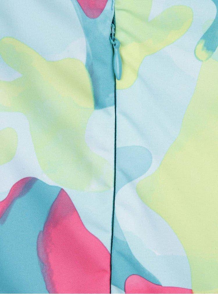 Geacă albastru & verde 5.10.15. cu imprimeu pentru fete