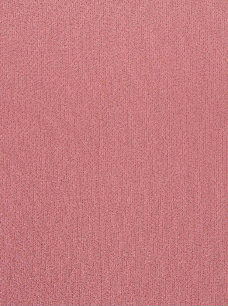 Bluza roz pudrat cu croi lejer - ONLY Mariana