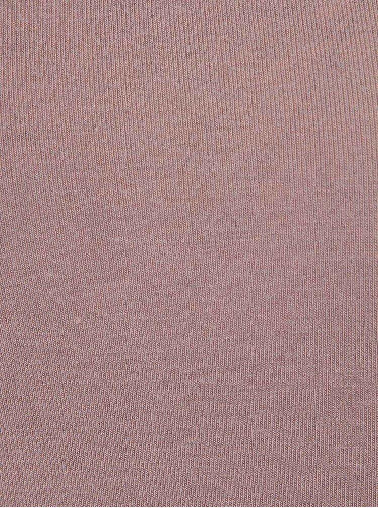 Bluză cu guler înalt ONLY Yasha gri