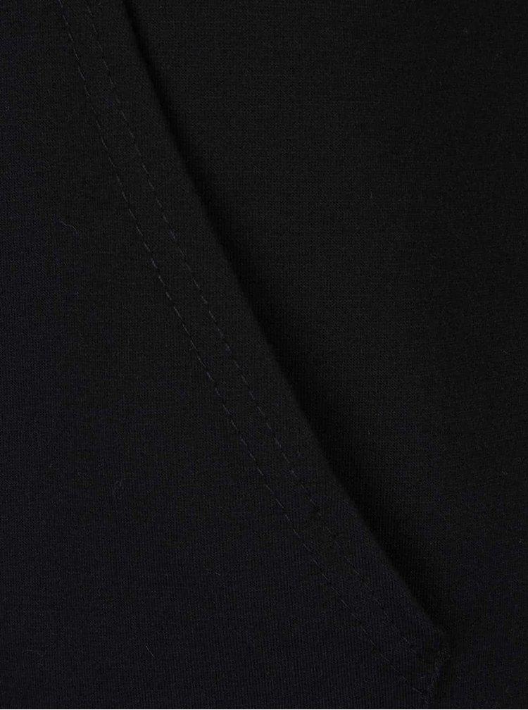 Černá lehká mikina s nápisem Madonna