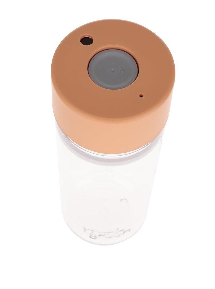 Láhev na vodu SmartBottle s víčkem v meruňkové barvě Frank Green 740 ml