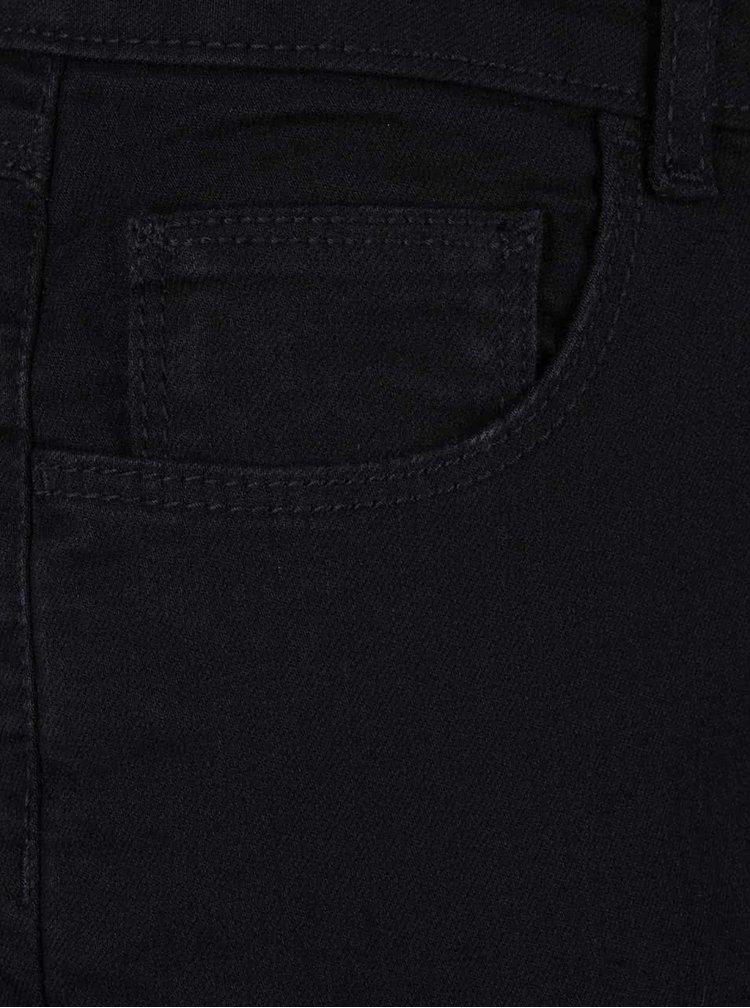 Černé zvonové džíny Dorothy Perkins