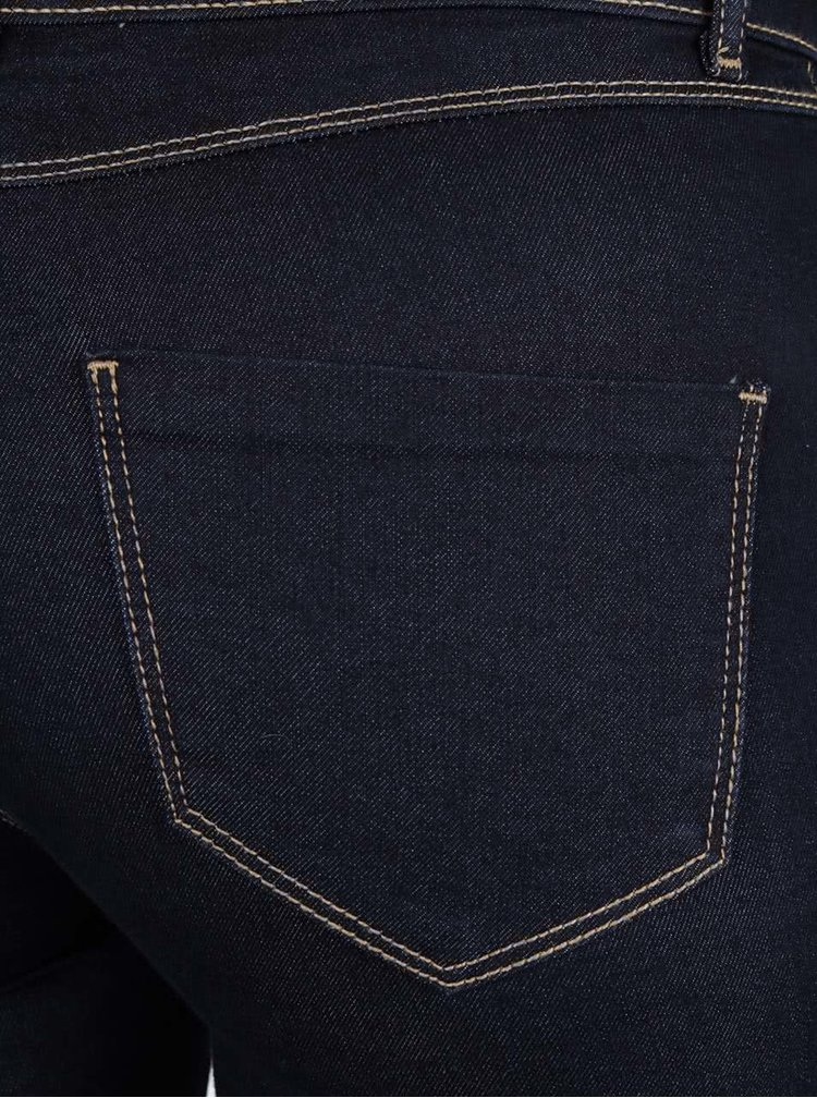 Tmavě modré zvonové džíny Dorothy Perkins