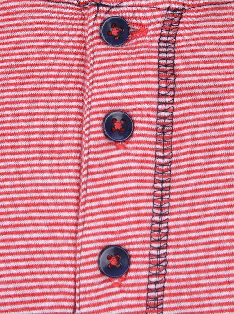 Bluză roșie 5.10.15. cu model discret