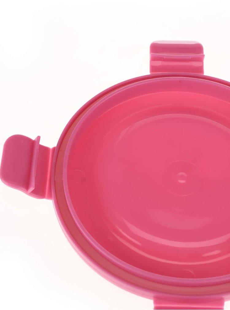 Ružový box na desiatu Prêt à Paquet