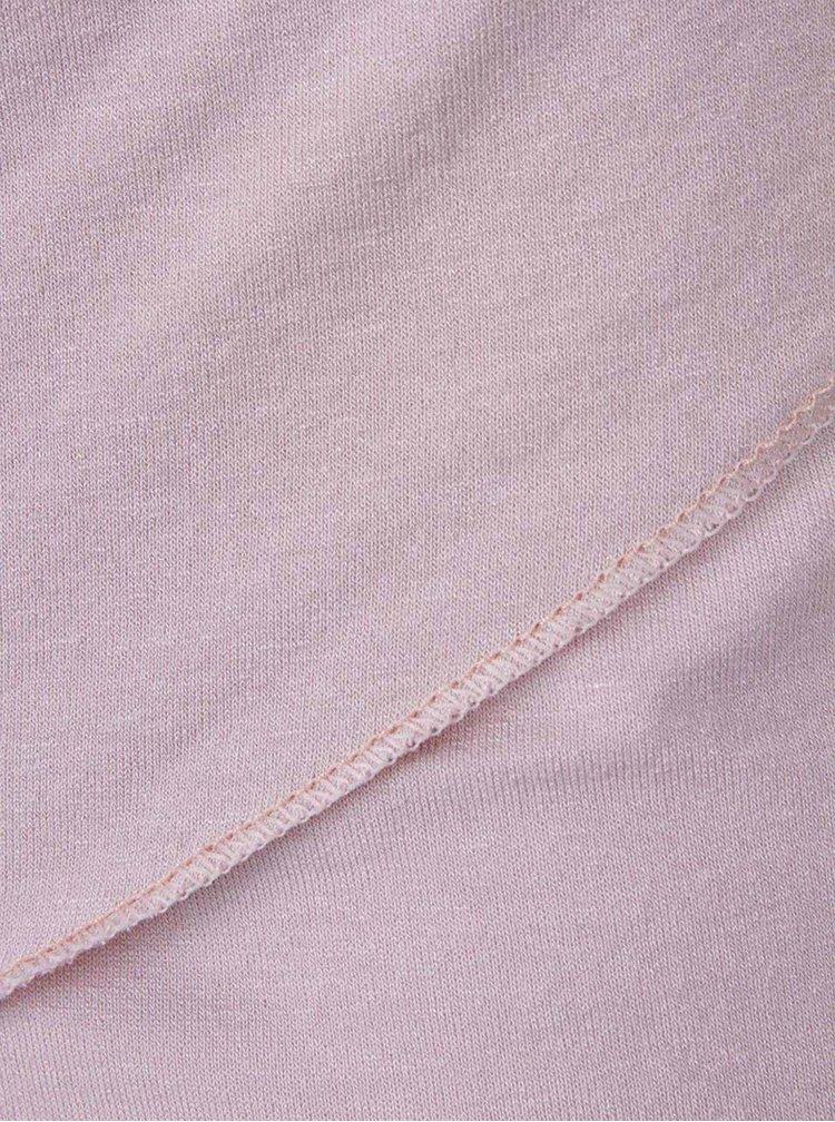 Světle růžový top s 3/4 rukávem ZOOT