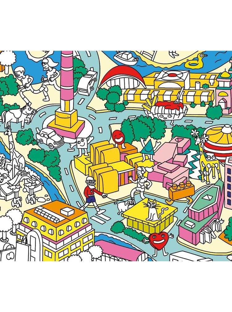 Veľká omaľovánka Berlín OMY