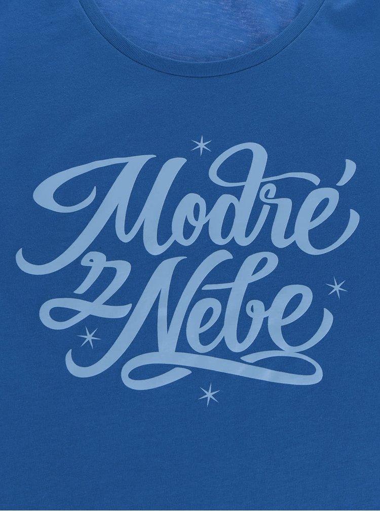 Modré dámské tričko ZOOT Originál Modré z nebe