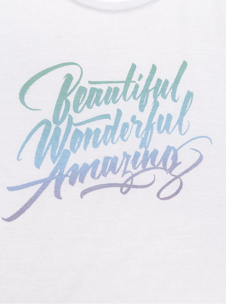 Bílé dámské tričko ZOOT Originál Beautiful