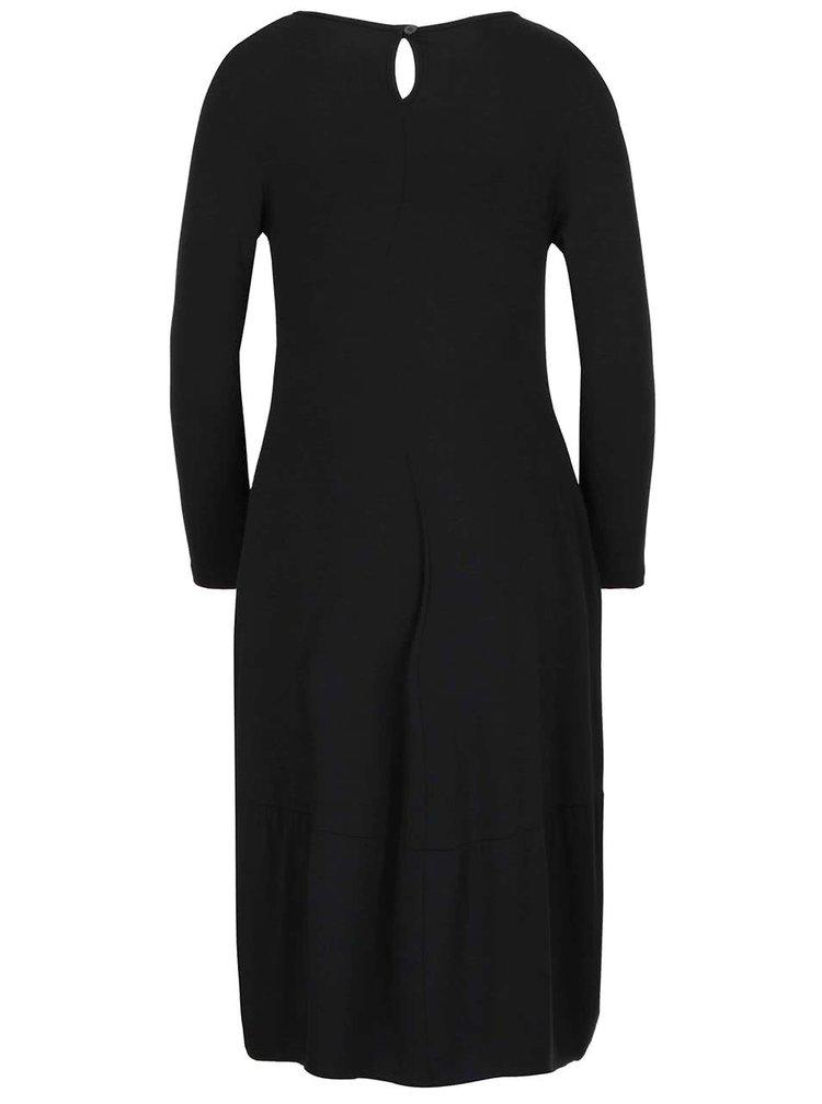 Rochie neagră cu buzunare ZOOT