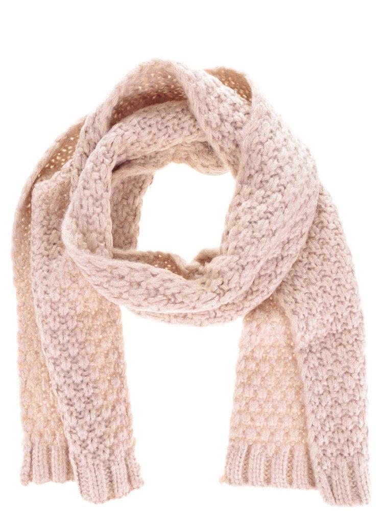Set căciulă & fular roz Something Special pentru femei