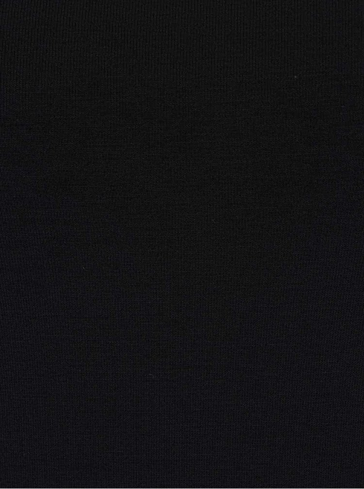 Bluza neagra cu decolteu rotund ZOOT