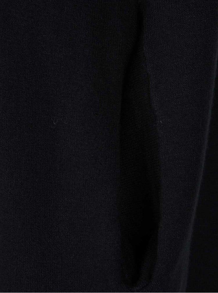 Černý dlouhý kadrigan ZOOT