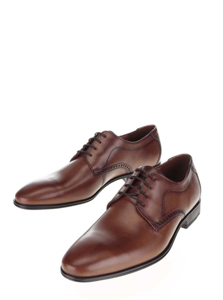 Pantofi brogue maro din piele Lloyd Splendor