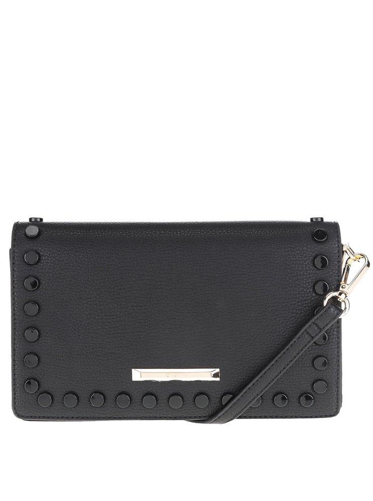 Černá crossbody kabelka s plastovými detaily Gionni Estella