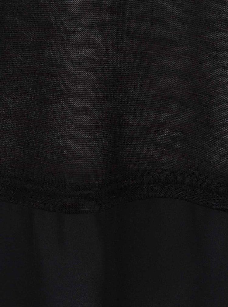 Bluză VERO MODA Julia neagră