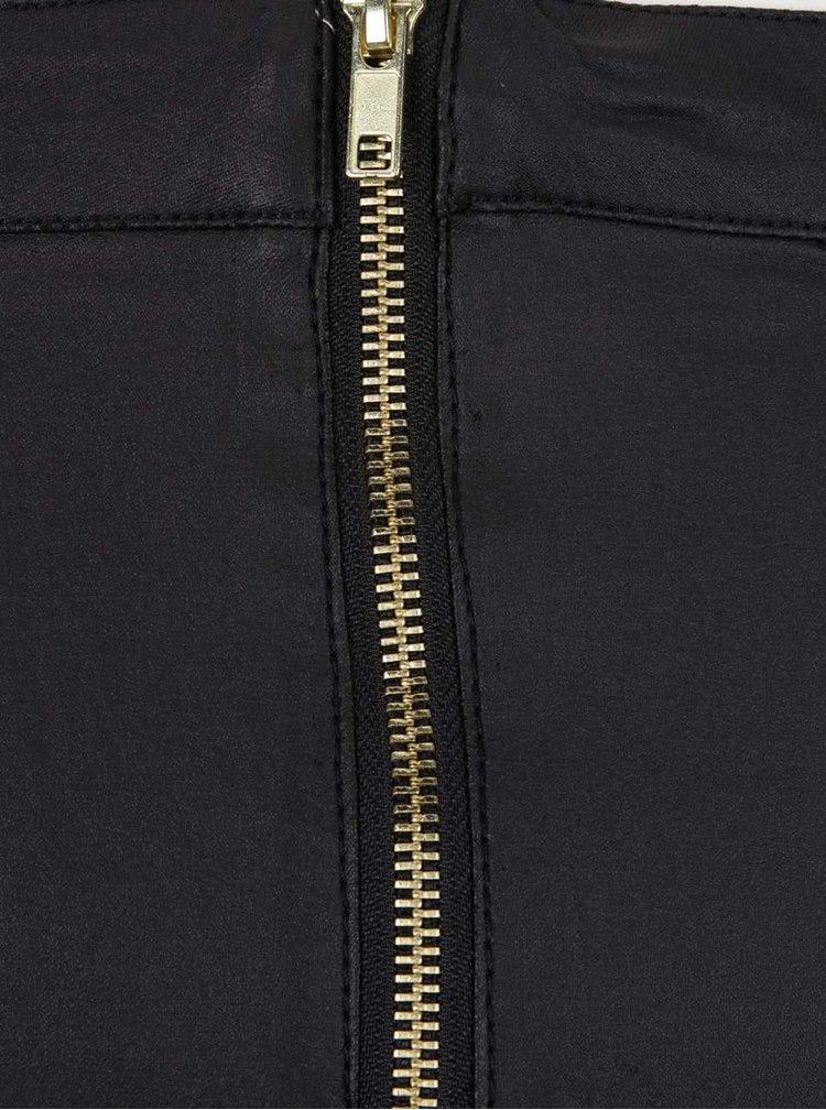 Černá strečová sukně VERO MODA Coaty