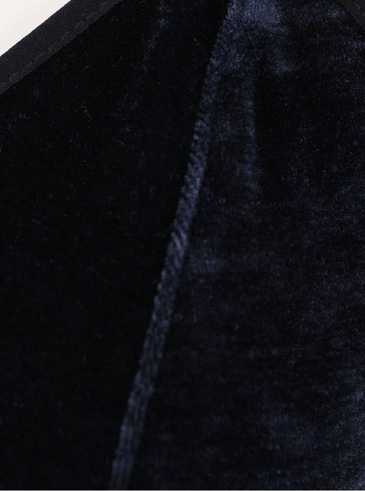 Sutien albastru inchis Y.A.S. Velvet
