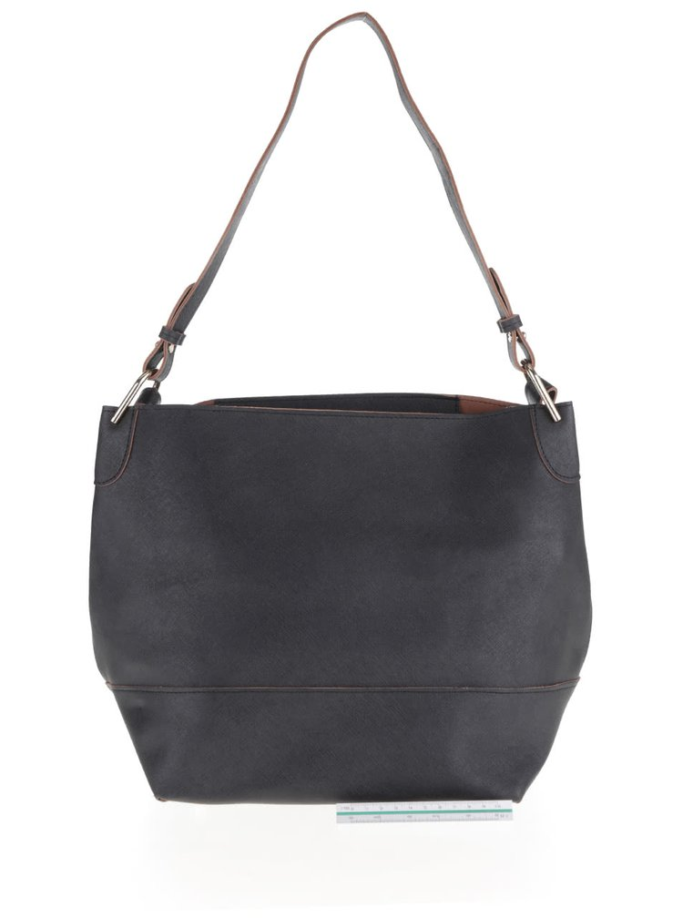 Geanta neagra Pieces Pilla Bucket