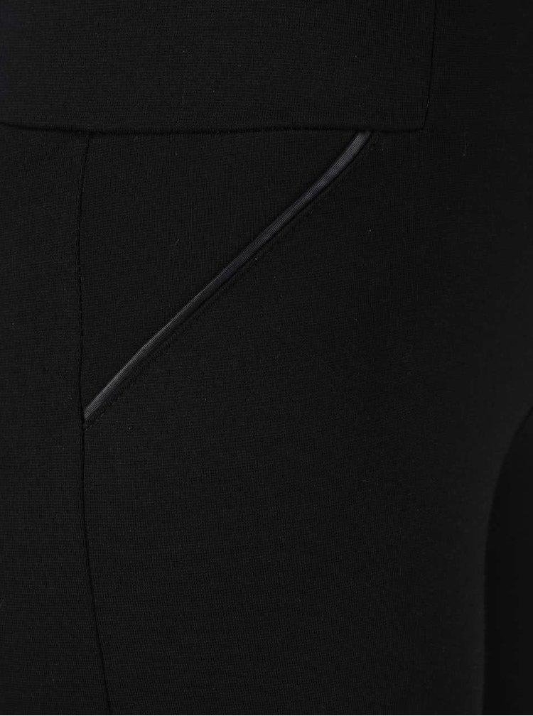 Pantaloni negri elastici Broadway Cara