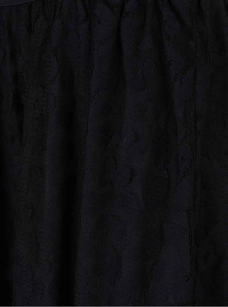 Černá krajková sukně ONLY Cara