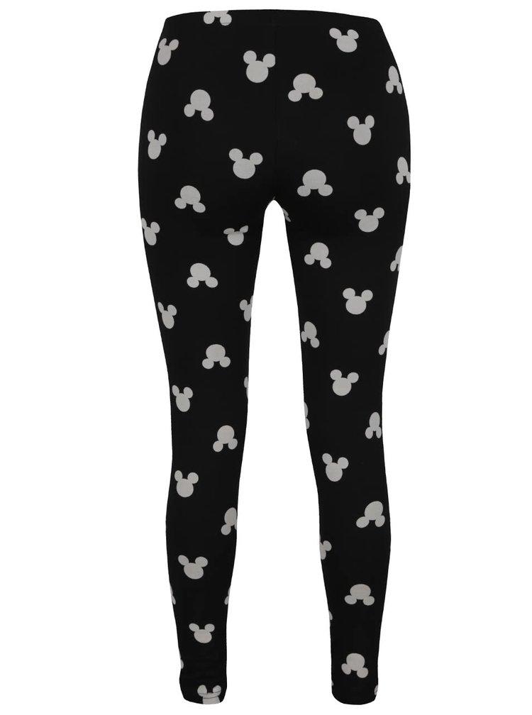 Černé legíny s motivem Mickey Mouse Haily´s Micky