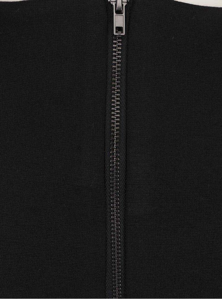 Rochie neagră ONLY Sia cu detalii sculpturale