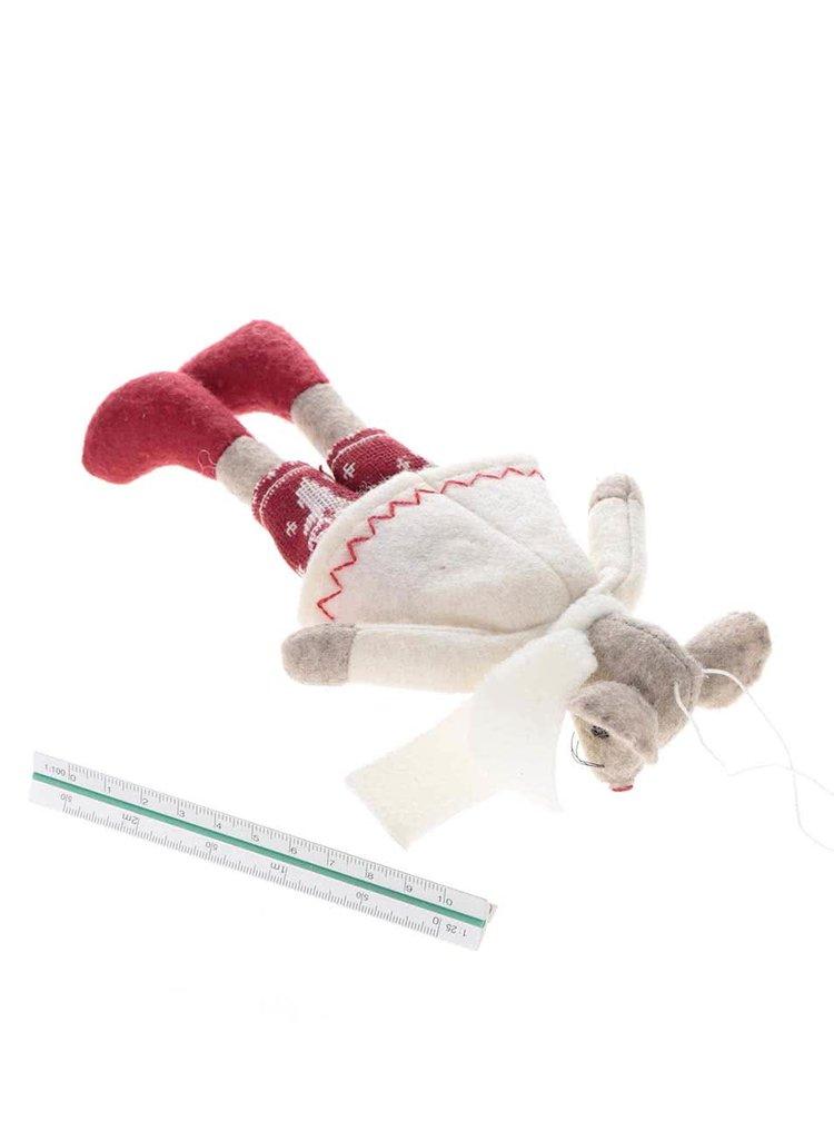 Vánoční ozdoba s myškou CGB