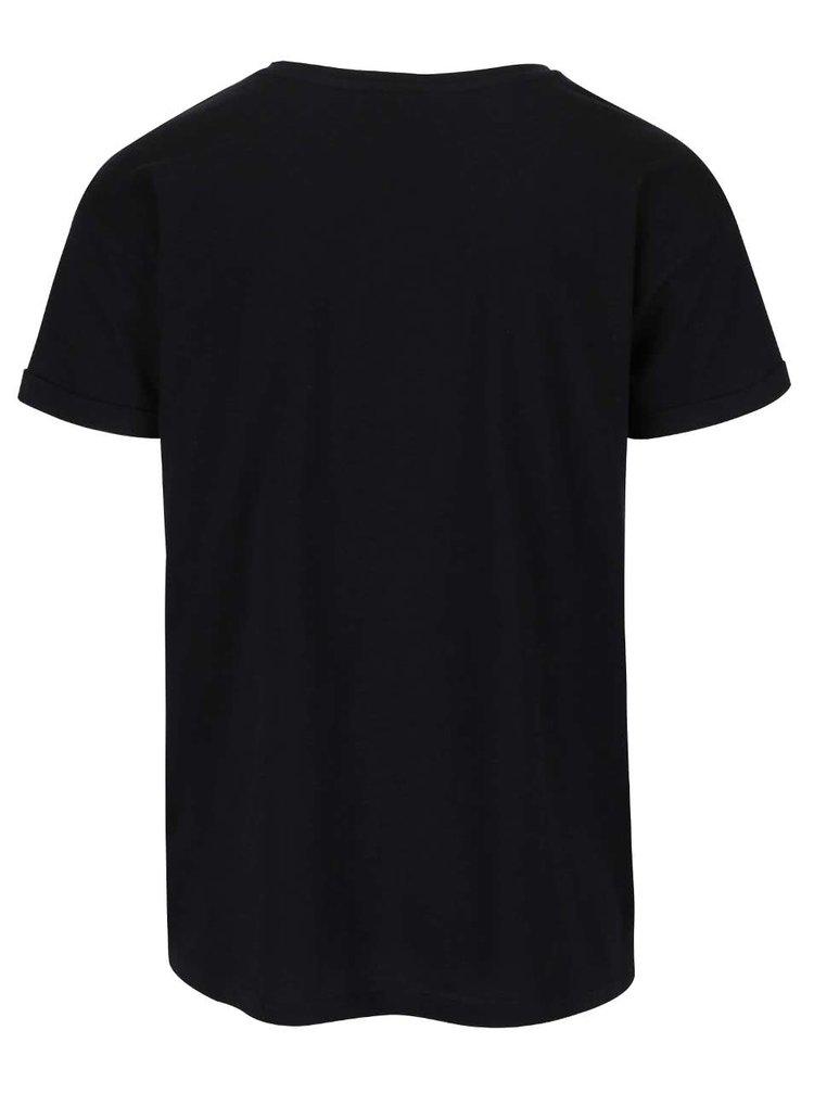 Černé pánské triko s potiskem Broadway