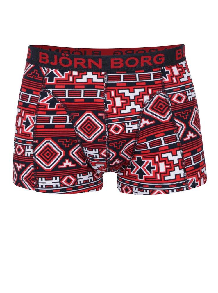 Sada dvou boxerek modré a červeno-modré barvě Björn Borg