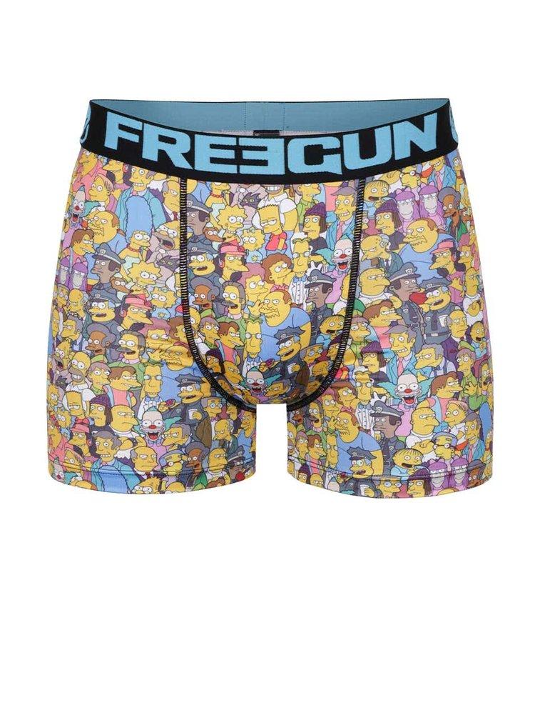 Boxeri multicolori Simpsons Freegun