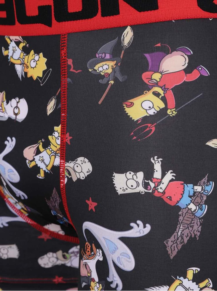 Čierne boxerky Simpsons Freegun