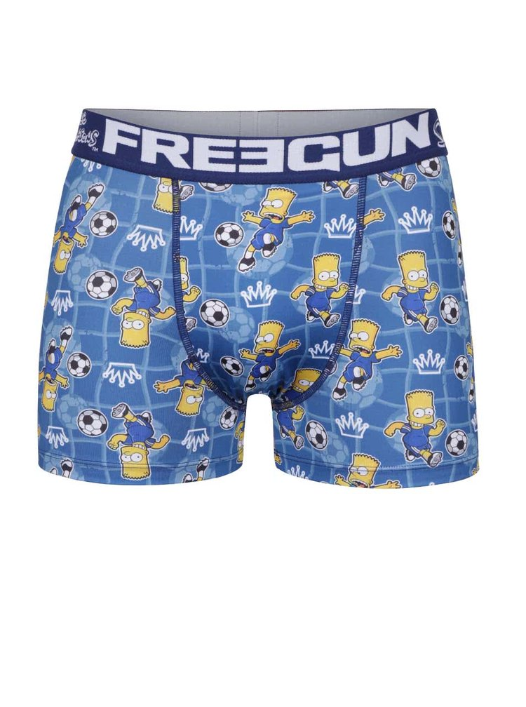 Boxeri albastri Simpsons Freegun