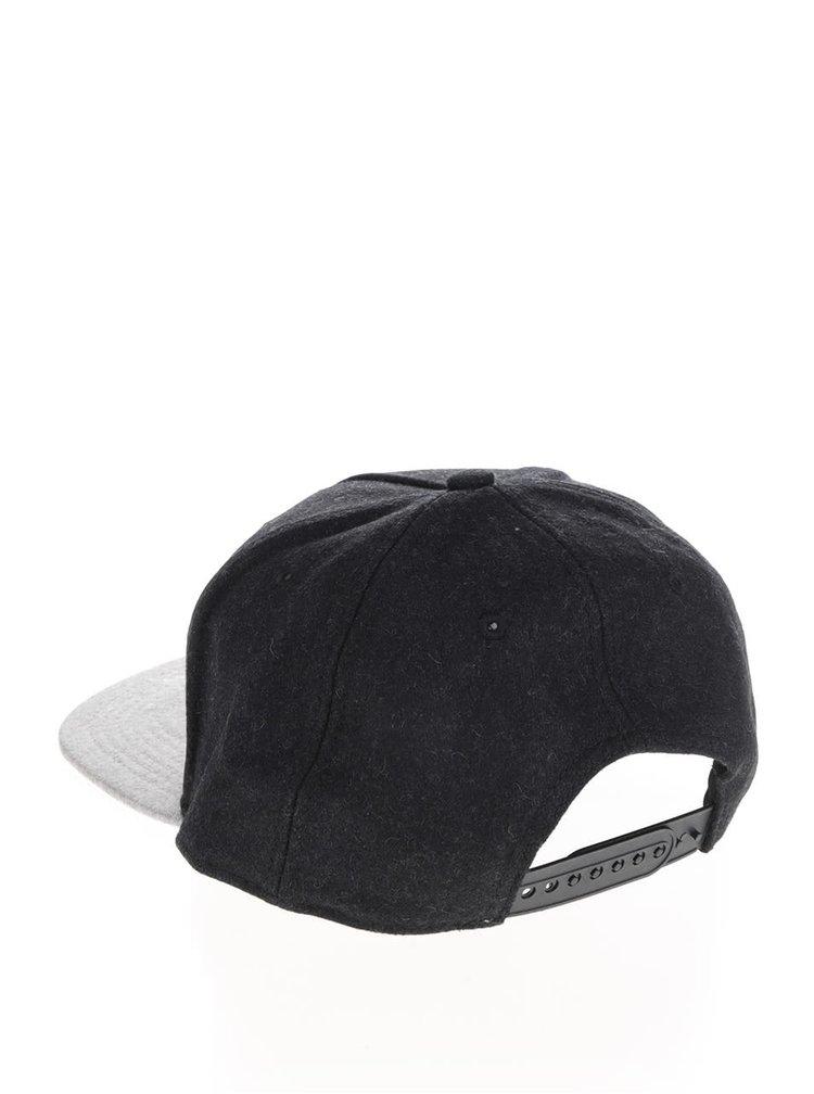 Șapcă gri & negru Jack & Jones Broome din bumbac