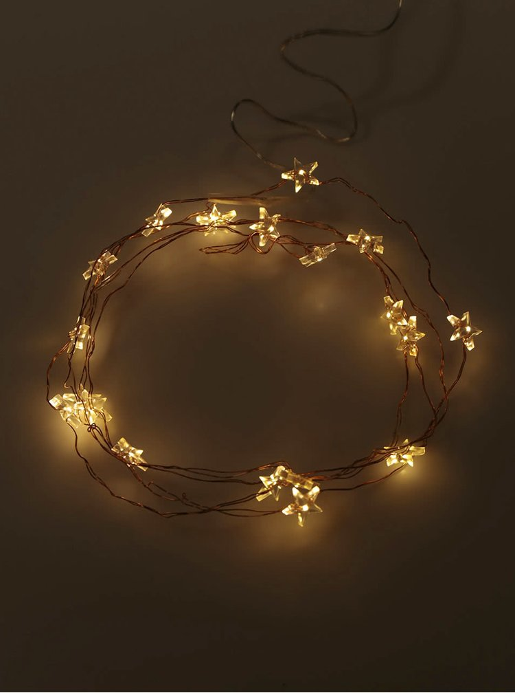 Instalatie cu lumini decoLED in forma de stea