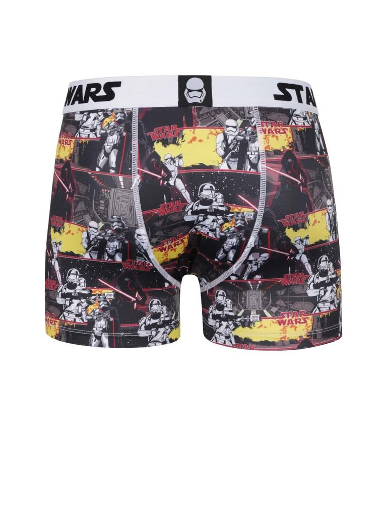 Boxeri crem/negru Star Wars Freegun
