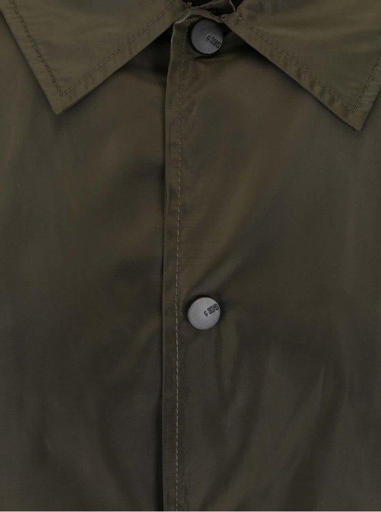Kaki ľahká prepínacia bunda ONLY & SONS Coach