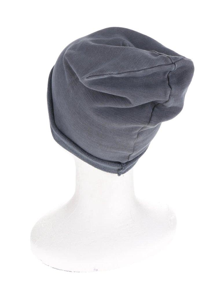 Tmavosivá čiapka Jack & Jones Washed