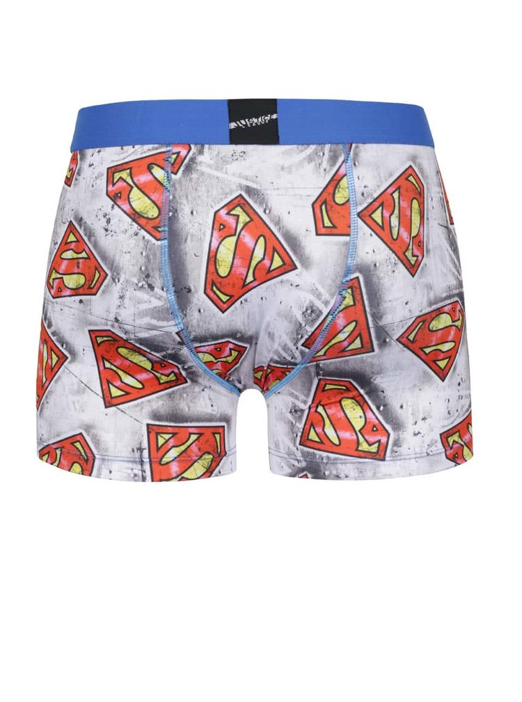 Boxeri gri Superman Freegun
